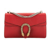 Gucci Red Suede Dionysus Shoulder Bag (New with Tags)