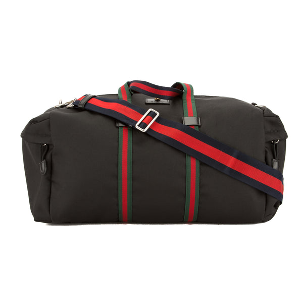 297697f5e Gucci Black Technical Canvas Duffle Bag (New with Tags) - 3594005 ...