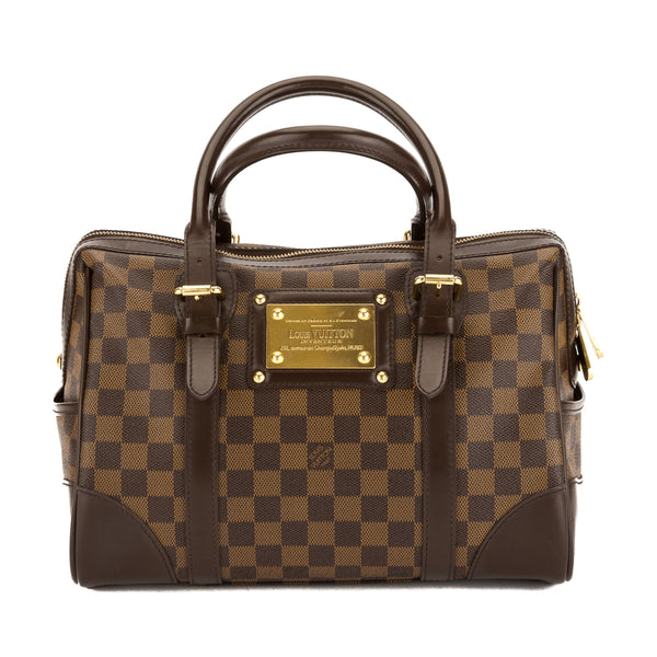 Louis Vuitton Damier Ebene Canvas Berkeley Bag (Pre Owned)