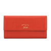 Gucci Orange Calfskin Leather Swing Continental Wallet (Pre Owned)
