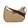 Gucci Brown GG Monogram Canvas Shoulder Bag (Pre Owned)