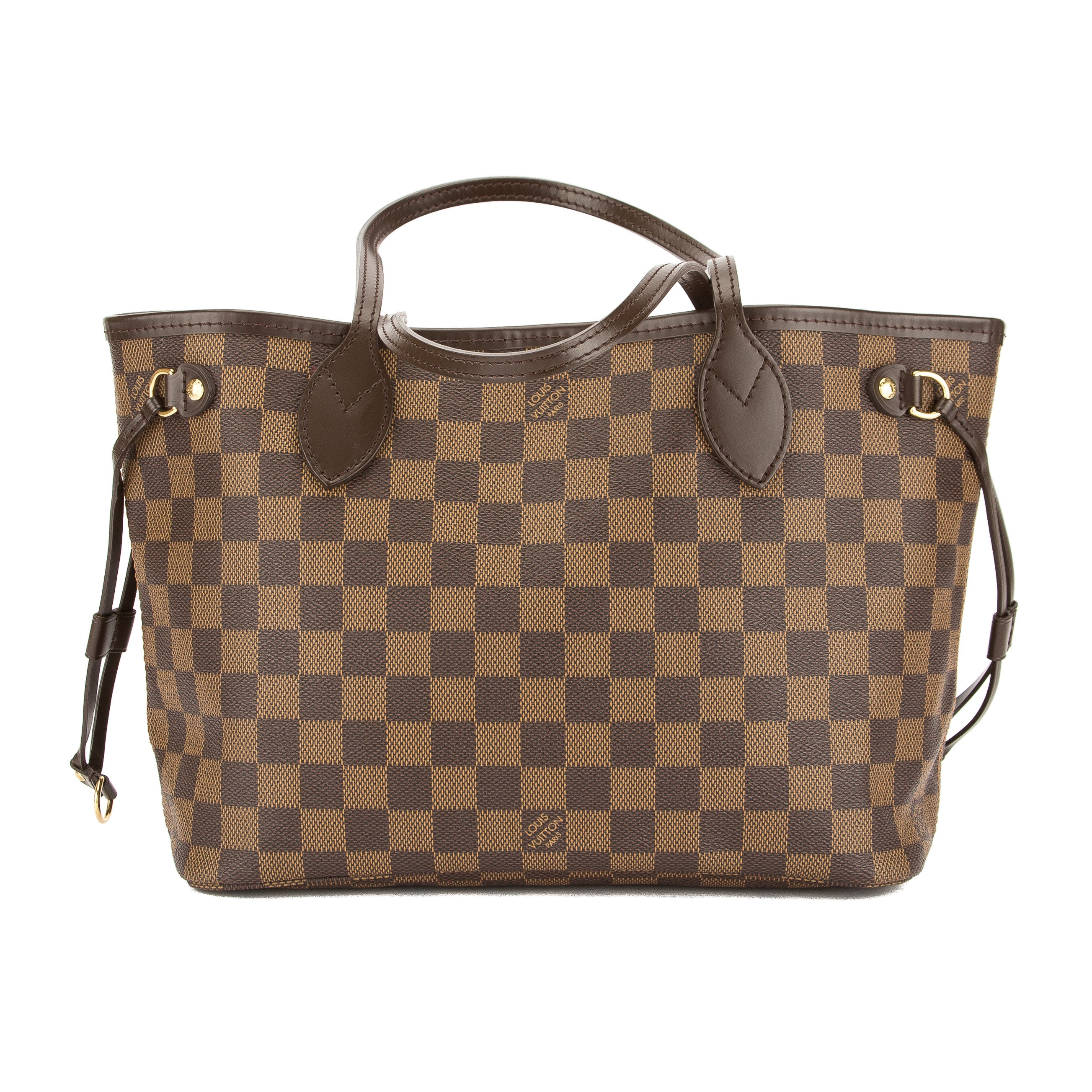 4c6889b5518a Louis Vuitton Damier Ebene Canvas Neverfull PM Bag (Pre Owned ...