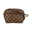 Louis Vuitton Damier Ebene Canvas Ipanema Pochette Bag (Pre Owned)