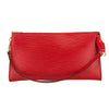 Louis Vuitton Castillian Red Epi Leather Pochette Accessoires 24 Bag (Pre Owned)