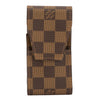 Louis Vuitton Damier Ebene Canvas Cigarette Case (Pre Owned)