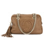 Gucci Light Brown Calfskin Leather Soho Chain Shoulder Bag (Pre Owned)