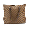 Louis Vuitton Damier Ebene Canvas Cabas Mezzo Bag (Pre Owned)