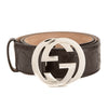 Gucci Brown Signature Leather Belt (New with Tags)