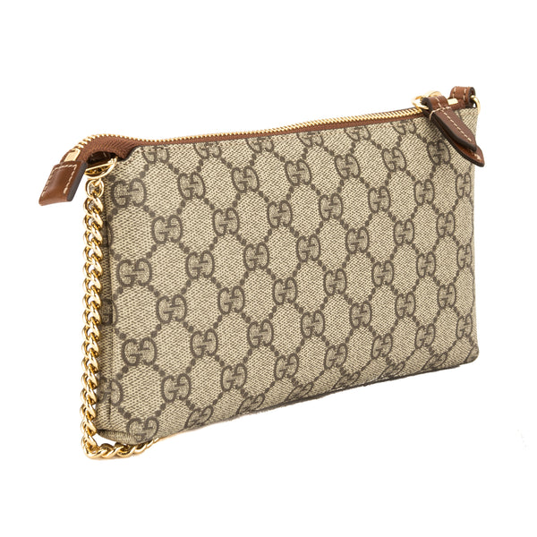 dba051f3c Gucci GG Supreme Canvas Wrist Wallet (New with Tags) - 3626016 | LuxeDH