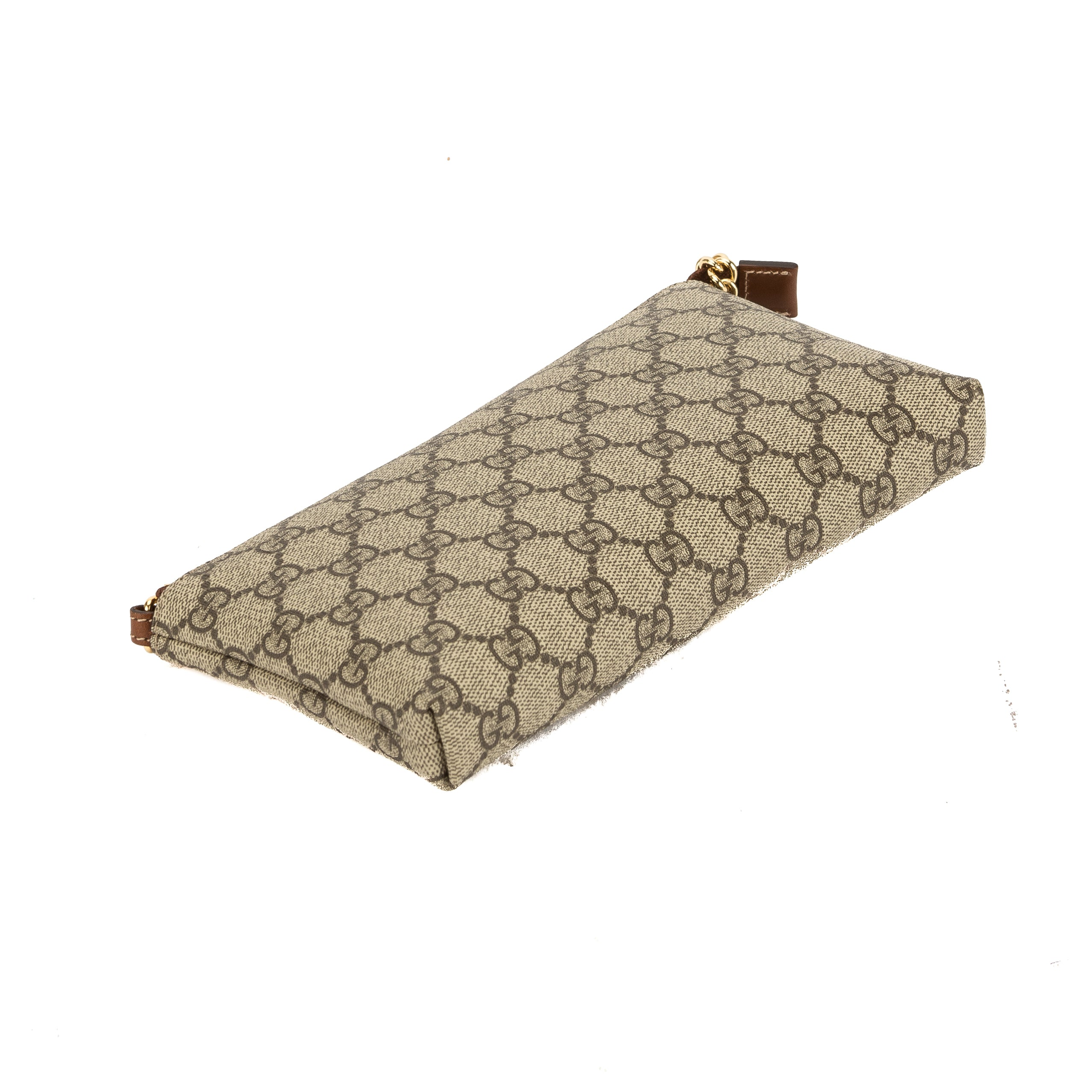 526e3aa485d4a2 Gucci GG Supreme Canvas Wrist Wallet (New with Tags) - 3626016 | LuxeDH