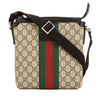 Gucci GG Supreme Canvas Web Messenger Bag (New with Tags)