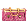 Louis Vuitton Pink Monogram Denim Neo Speedy Bag (Pre Owned)