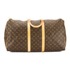Louis Vuitton Monogram Canvas Keepall 55 Boston Bag (Pre Owned)