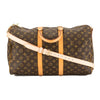 Louis Vuitton Monogram Canvas Keepall Bandouliere 45 Bag (Pre Owned)