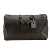 Louis Vuitton Noir Epi Leather Keepall 45 Boston Bag (Pre Owned)