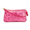 Louis Vuitton Rose Shiny Leather Cosmic Blossom Pochette Accessoires Bag (Pre Owned)
