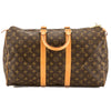 Louis Vuitton Monogram Canvas Keepall 45 Boston Bag (Pre Owned)