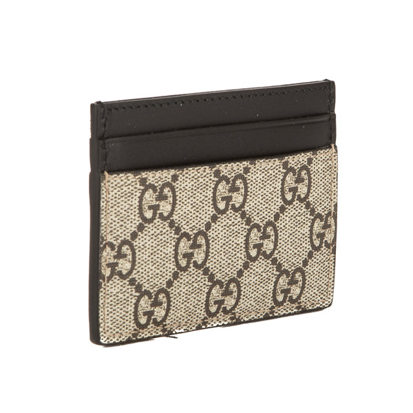 e1fed1f0c6fd Gucci GG Supreme Canvas Kingsnake Print Card Case (New with Tags ...