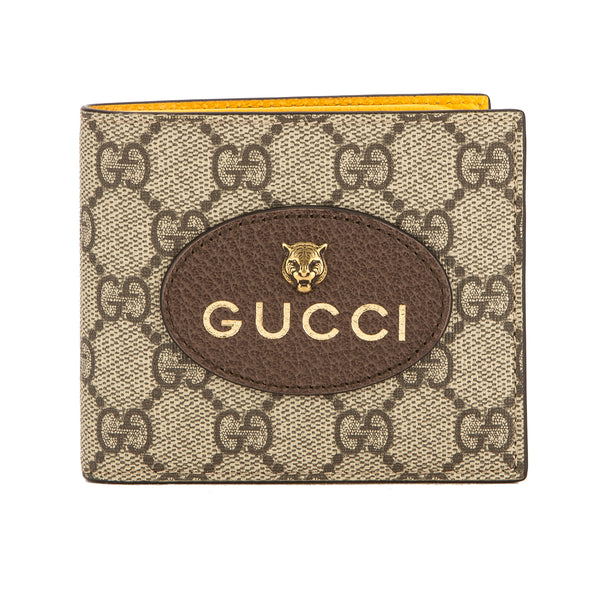 b74d3be0ccbe3a Gucci GG Supreme Canvas Neo Vintage Wallet (New with Tags) - 3659011 ...