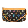 Louis Vuitton Black Monogram Canvas Multicolore Pochette Accessoires Bag (Pre Owned)