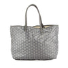 Goyard Grey Goyardine Canvas St. Louis PM Bag (Pre Owned)