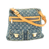 Louis Vuitton Blue Monogram Denim Baggy PM Bag (Pre Owned)