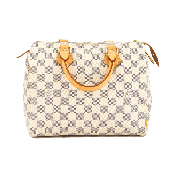 d61a9c62cdac Louis Vuitton Damier Azur Canvas Speedy 25 Bag (Pre Owned) - 3669012 ...