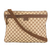 Gucci GG Monogram Canvas Messenger Bag (Pre Owned)