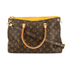 Louis Vuitton Safran Leather Monogram Canvas Pallas Bag (Pre Owned)