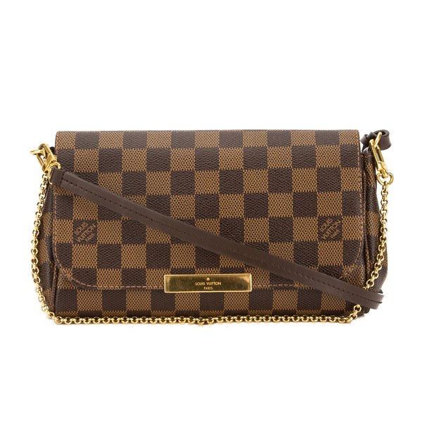 5281e1c2 Louis Vuitton Damier Ebene Canvas Favorite PM Bag (Pre Owned)