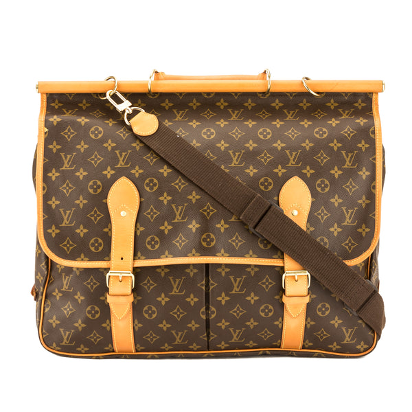 ba78613de6a Louis Vuitton Monogram Canvas Sac Chasse Hunting Bag (Pre Owned ...