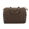 Louis Vuitton Ebene Monogram Mini Lin Canvas Speedy 30 Bag (Pre Owned)