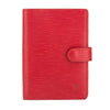 Louis Vuitton Castillian Red Epi Leather Agenda PM Cover (Pre Owned)