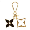 Louis Vuitton Brown and Gold Porte Cles Puzzle Key Holder Charm (Pre Owned)
