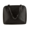 Louis Vuitton Noir Epi Leather Lussac Bag (Pre Owned)