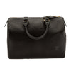 Louis Vuitton Noir Epi Leather Speedy 30 Bag (Pre Owned)