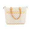 Louis Vuitton Damier Azur Canvas Saleya GM Bag (Pre Owned)