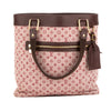 Louis Vuitton Cerise Monogram Mini Lin Canvas Lucille GM Bag (Pre Owned)