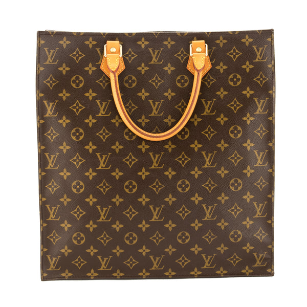 baaa56aaaad0 Louis Vuitton Monogram Canvas Sac Plat Bag (Pre Owned) - 3707021 ...