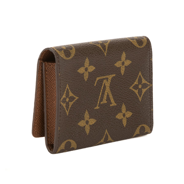 5c5187ae572d Louis Vuitton Monogram Canvas Business Card Holder (Pre Owned ...