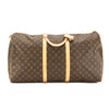 Louis Vuitton Monogram Canvas Keepall 60 Bag (Pre Owned)