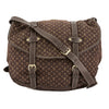 Louis Vuitton Ebene Monogram Mini Lin Canvas Saumur XL Bag (Pre Owned)