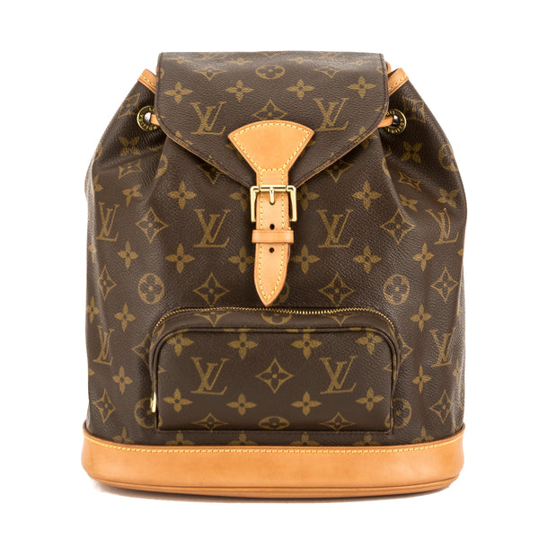 e7a387a08a78 Louis Vuitton Monogram Canvas Montsouris MM Backpack (Pre Owned ...