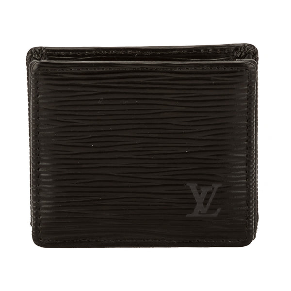 Louis Vuitton Noir Epi Leather Porte-Monnaie Boite Coin Case (3732015)