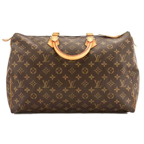 Louis Vuitton Monogram Canvas Speedy 40 Bag (3733019)