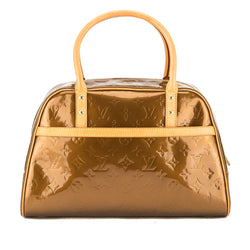 Louis Vuitton Bronze Monogram Vernis Leather Tompkins Square Bag (Pre Owned)