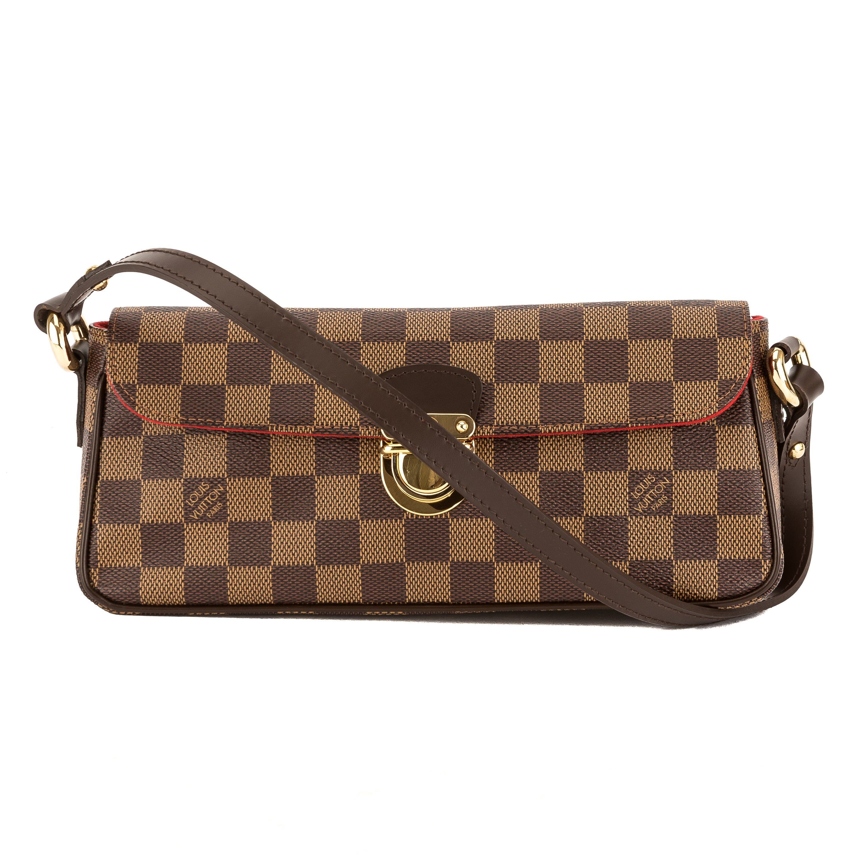 4a0b9b8b8 Louis Vuitton Damier Ebene Canvas Ravello PM Bag (Pre Owned ...