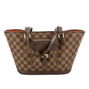 Louis Vuitton Damier Ebene Canvas Manosque PM Bag (Pre Owned)
