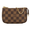 Louis Vuitton Damier Ebene Canvas Mini Pochette Accessoires Bag (Pre Owned)