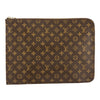 Louis Vuitton Monogram Canvas Poche Documents Briefcase (Pre Owned)